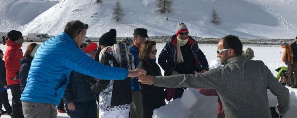séminaire d'entreprise à la montagne
